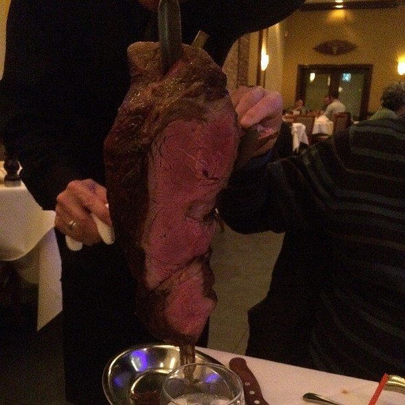 Perna De Carneiro (Leg Of Lamb) - Churrascaria Plataforma Brazilian Steakhouse, New York, NY