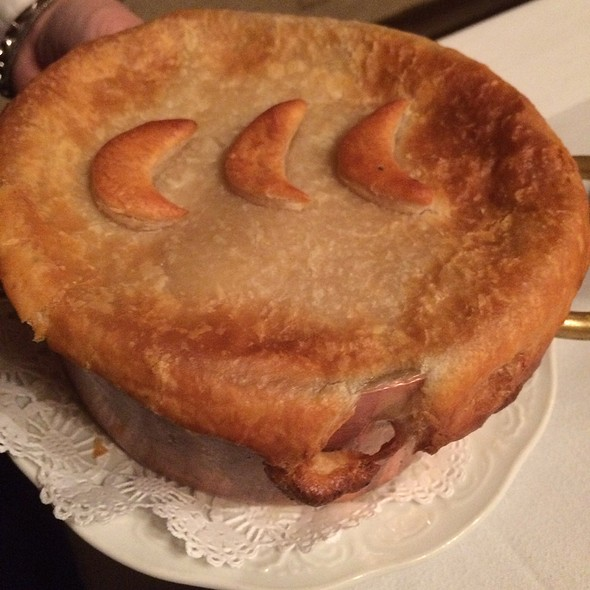 Chicken Pot Pie - Ram's Head Inn, Galloway, NJ