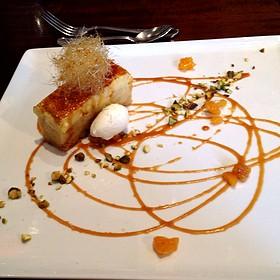 Bread Pudding Crème brûlée