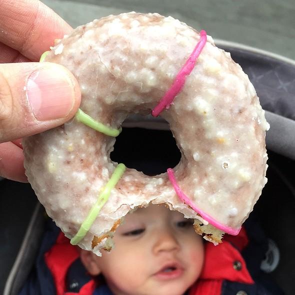 Marzipan Cake Doughnut