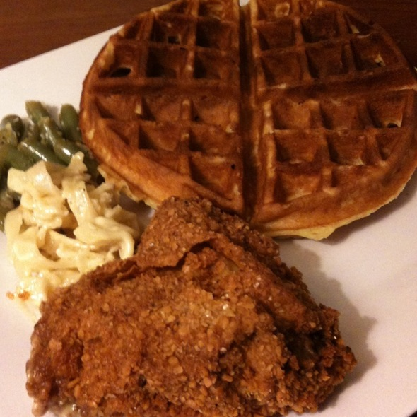Chicken and Waffles @ Manny's Uptown Kitchen