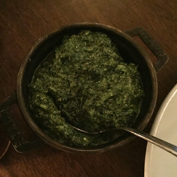 Cream Spinach @ Hawksmoor