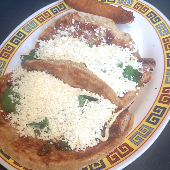 Seared Pork Belly On Malaysian Flatbread With Kewpie And Cotija @ Hot Joy
