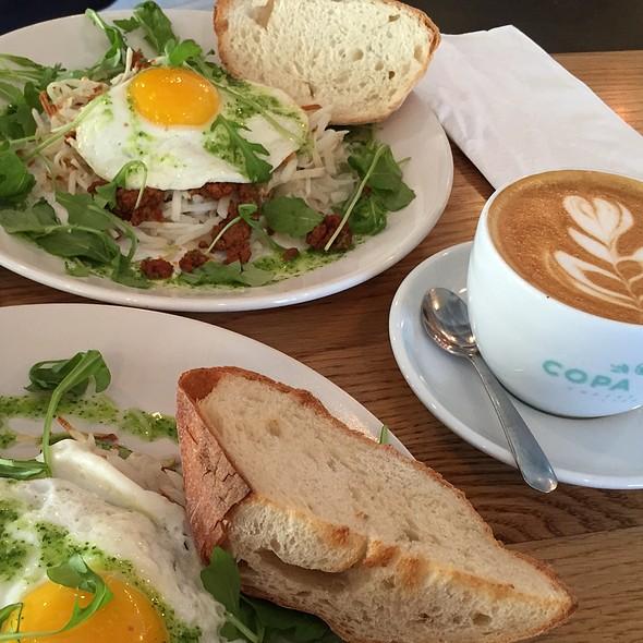 Chorizo And Egg Hash @ Copa Vida