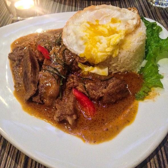 Panang Beef @ Nok Thai Kitchen