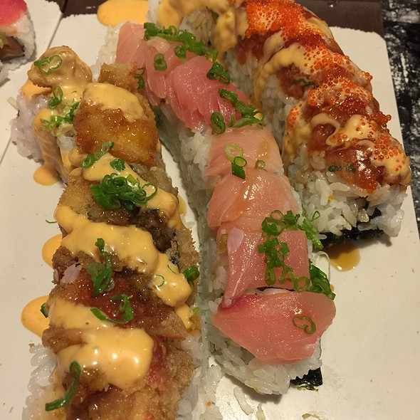 Various Speciality Rolls @ Kenzo Sushi