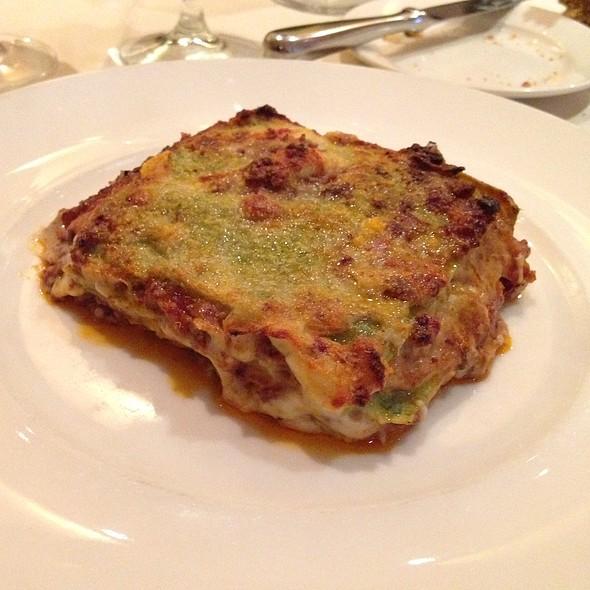 Spinach Lasagna - ViceVersa, New York, NY