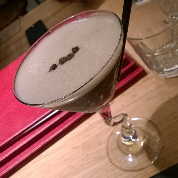 Salted Coconut Espresso Martini At Ribs And Rumps Sydney Olympic Park