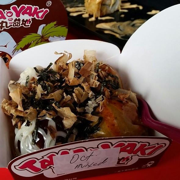 Seasoned Octopus Takoyaki @ Tamayaki