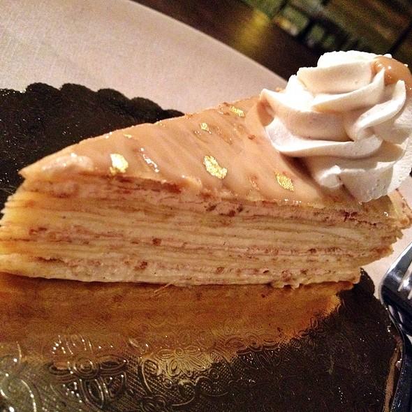 Dulce De Leche Crepe Cake @ Tout Suite Cafe