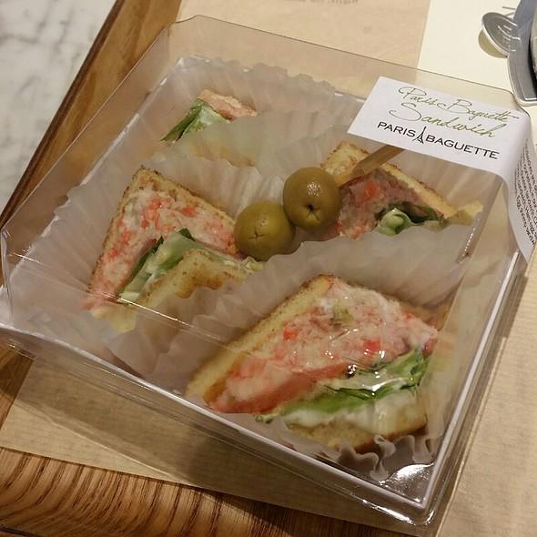 Crab Wasabi Sandwich