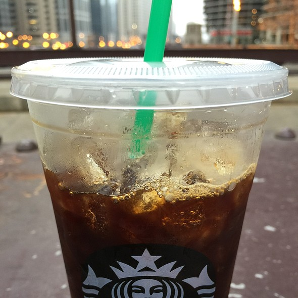 Iced Quad Espresso With Vanilla @ Starbucks
