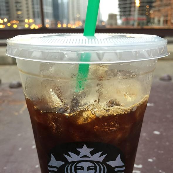 Iced Quad Espresso With Vanilla @ Starbucks