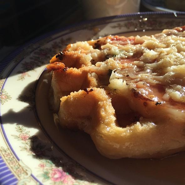 Ham And Cheese Waffel @ The Waffle Window