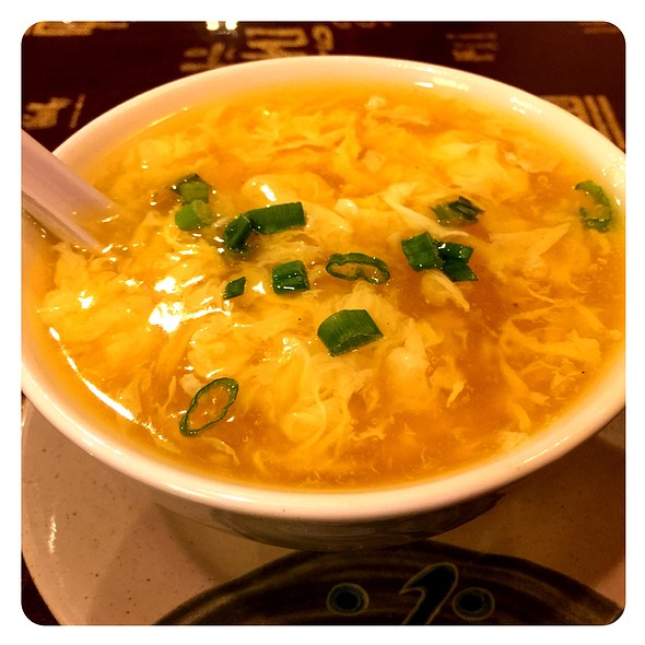 Egg Drop Soup @ Asian Harbor
