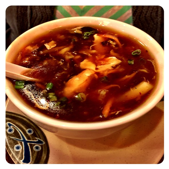 Hot and Sour Soup @ Asian Harbor