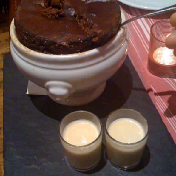 Chocolate Souffle @ Afaria