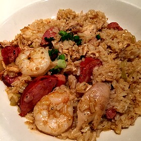 Jambalaya with Dirty Rice