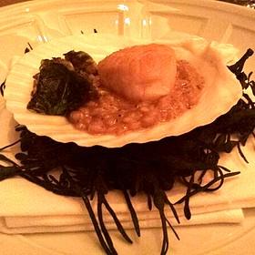 Seared Scallop - Alizé at the Top of the Palms Casino Resort, Las Vegas, NV