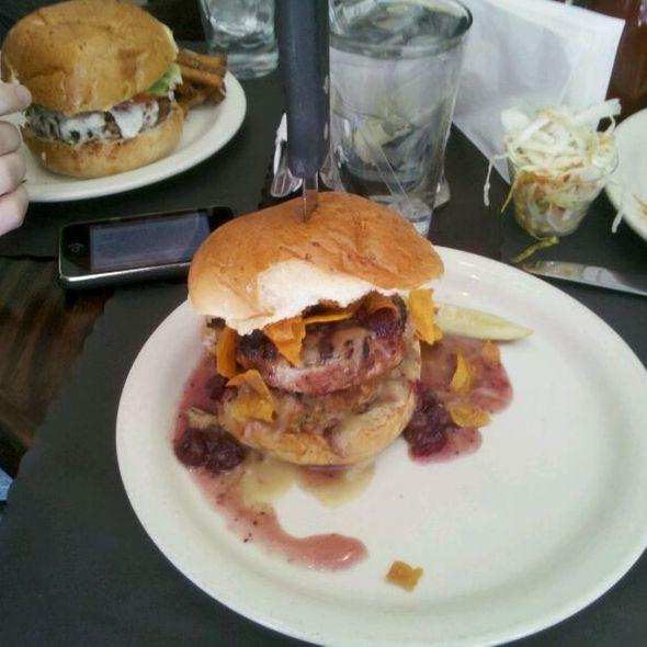 Turducken Burger - Smokin' Betty's, Philadelphia, PA