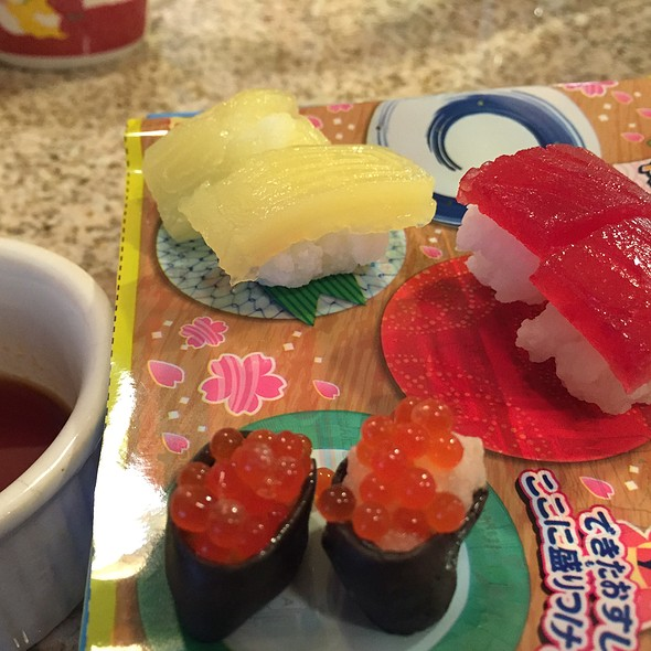 Candy Sushi @ Home