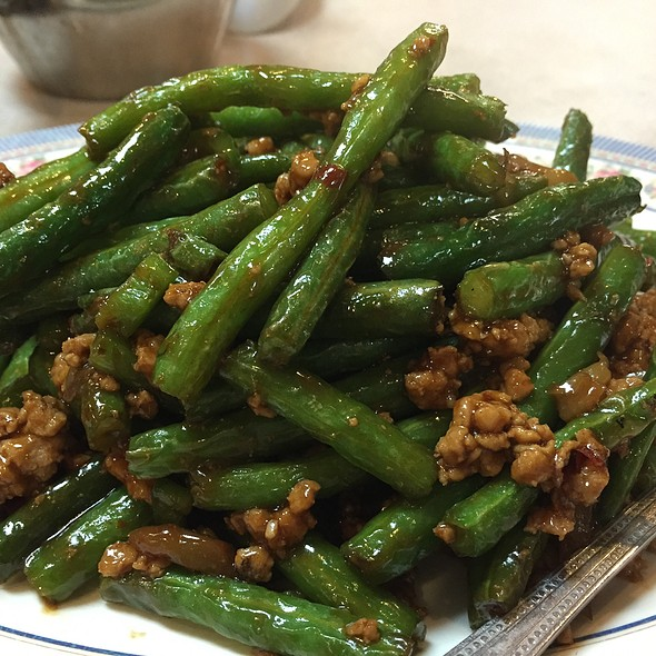 Sauteed String Bean With Pork @ Won Kee Seafood Restaurant
