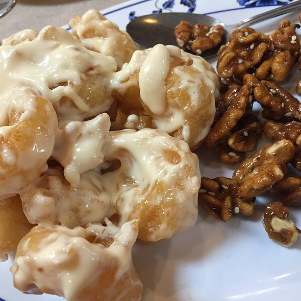 Prawns With Glazed Walnuts @ Won Kee Seafood Restaurant