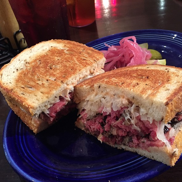 Reuben Sandwich @ The Refuge