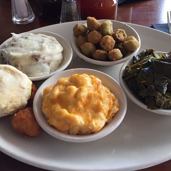 Veggie Plate - The Pit Authentic BBQ, Raleigh, NC