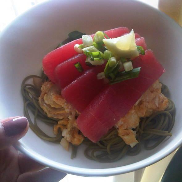 tuna soba @ Bong's kitchen