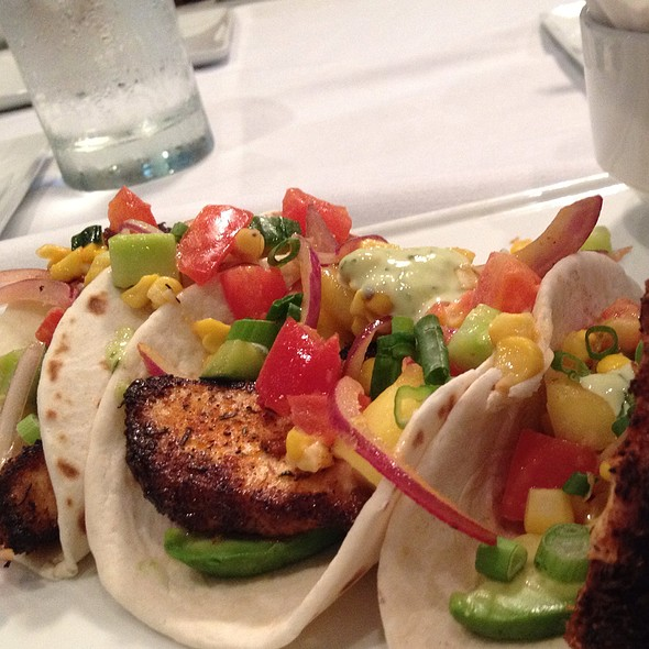 Blackened Fish Tacos - The Grille Fashion Cuisine, Wellington, FL