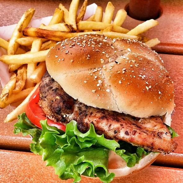 Grilled Chicken Sandwich @ Lottawatta Lodge