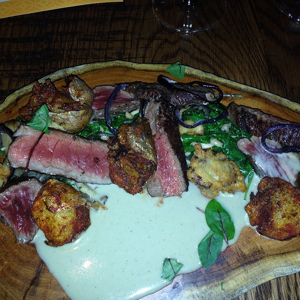 Bison Special - T. Cook's at Royal Palms Resort and Spa, Phoenix, AZ