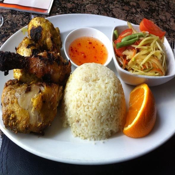 Kai Yang Combo @ Manora's Thai Cuisine