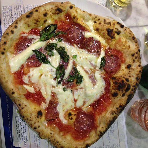 Pizza Salame Irpino @ Lievito Madre Al Duomo Di Gino Sorbillo