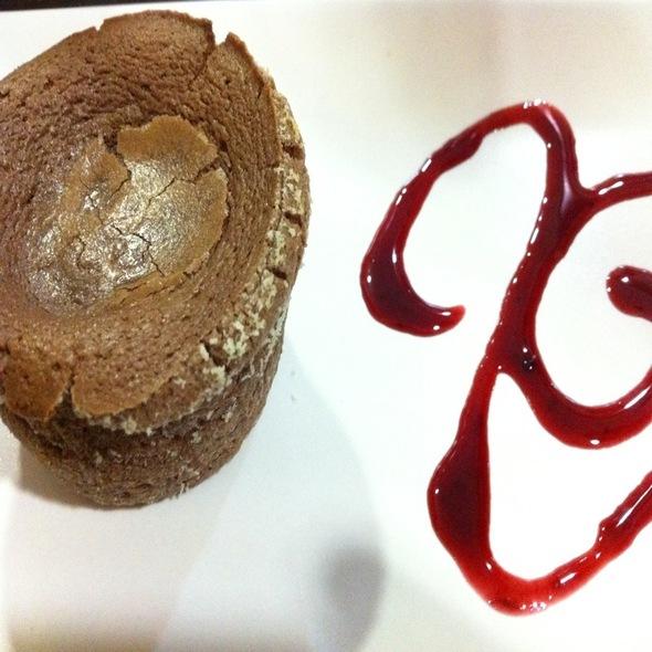 Coulant De Chocolate @ Café Bar Nou Raspa