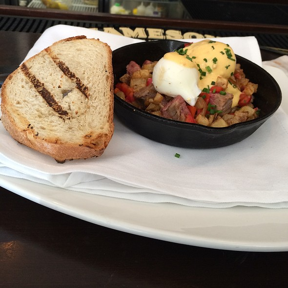 Corned Beef Hash - Southerly Restaurant and Patio, Mount Pleasant, SC