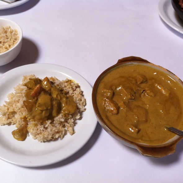 Chicken Curry @ Green Papaya
