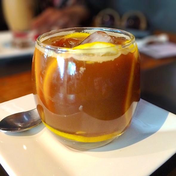 Iced Coffee & Lemon @ Mr. Baker