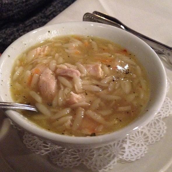 Chicken Soup - 17Hundred90 Inn and Restaurant, Savannah, GA