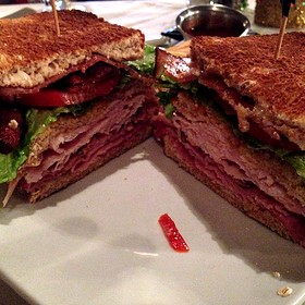 17Hundred90 Club Sandwich