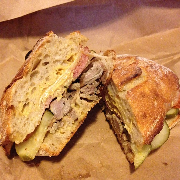 Cubano Sandwich @ Forge Baking Company