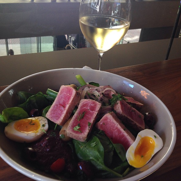 Ahi Nicoise Salad - OneUP Restaurant & Lounge at Grand Hyatt San Francisco, San Francisco, CA