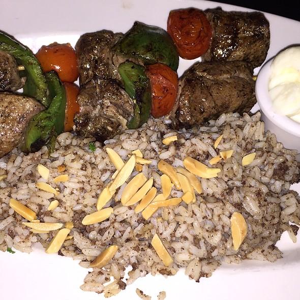 Lamb Kebab @ Nadim's Mediterranean Cafe