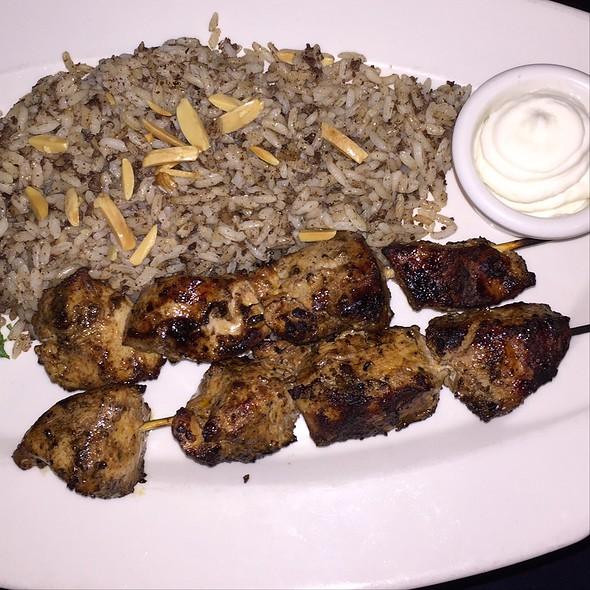 Chicken Kebab @ Nadim's Mediterranean Cafe