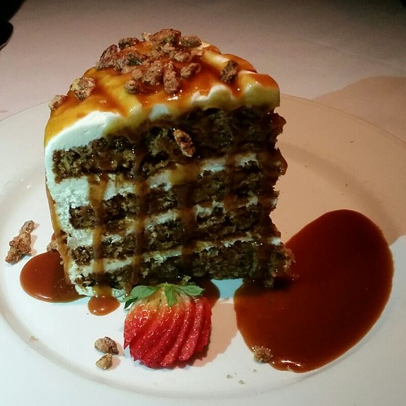 Carrot Cake - Steve Fields Steak and Lobster Lounge, Plano, TX