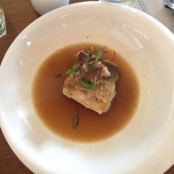 Fish With Miso Broth @ The White Rabbit
