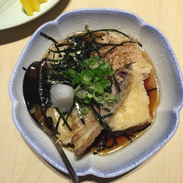Tofu @ Tomi Sushi