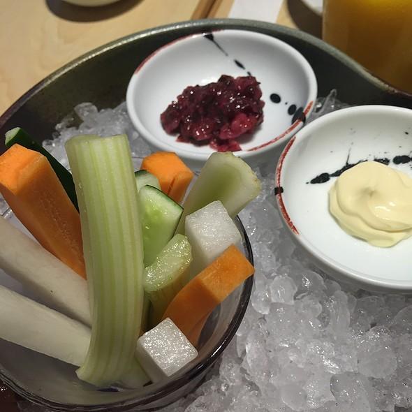 Veggies And Dip @ Tomi Sushi