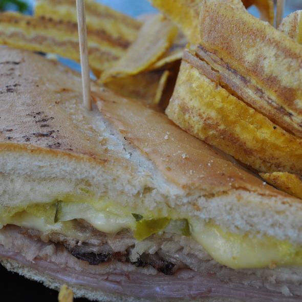 Cubano Sandwich @ Porto's Bakery